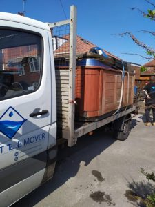 Hot Tub Mover - Our Truck