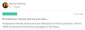 Michael - 5 Star Trustpilot Review of The Hot Tub Mover